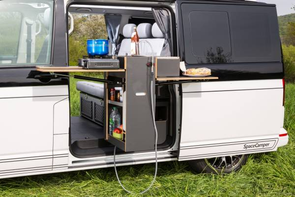 spacecamper classicopen der spacecamper vw t6 camping. Black Bedroom Furniture Sets. Home Design Ideas